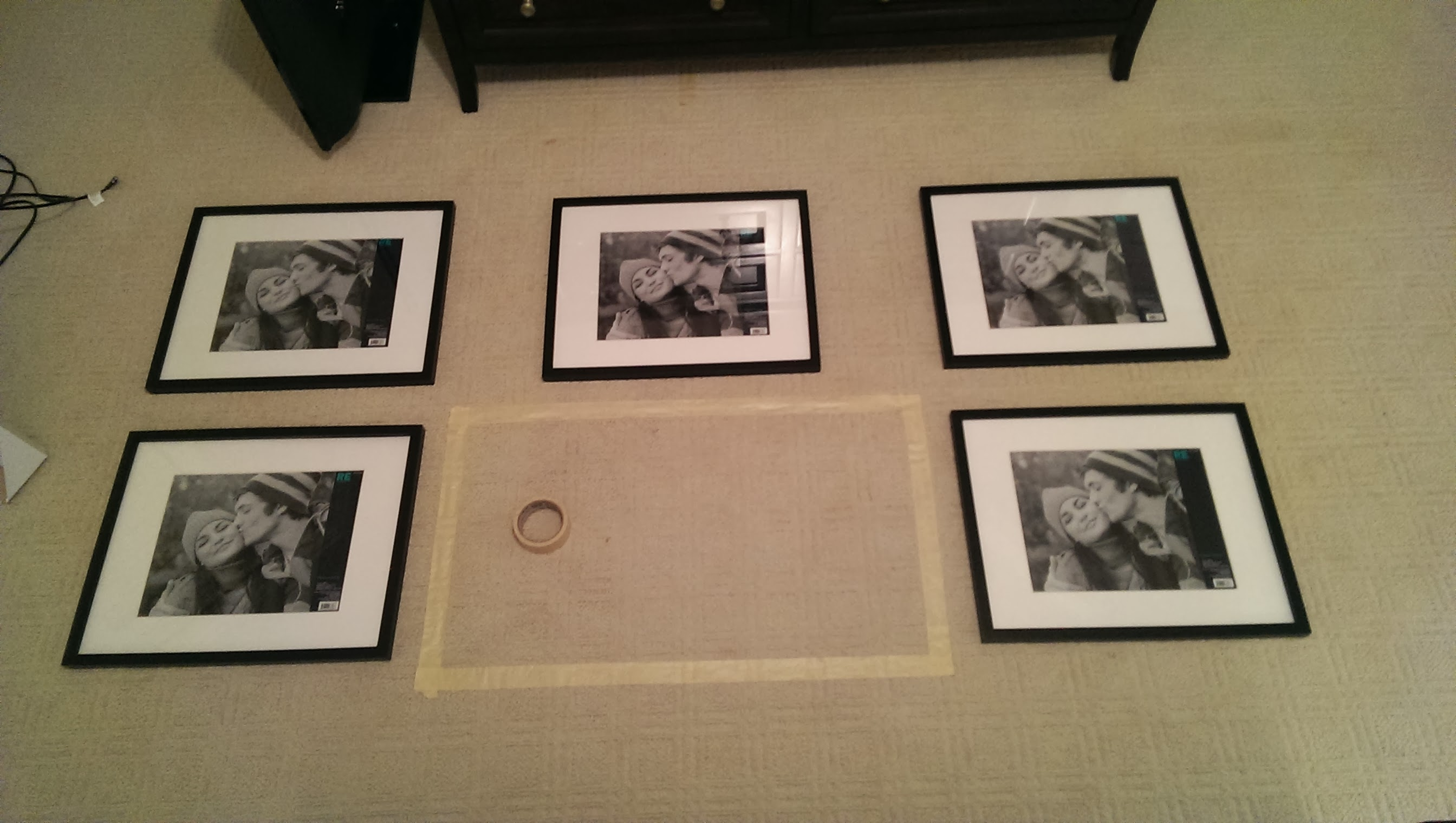 Frame Arrangements   To Newlywedism and Beyond...